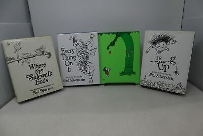 £25.42 • Buy Lot Of 4 Books By Shel Silverstein - Hardcover
