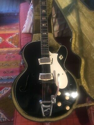 $ CDN2766.01 • Buy Vintage 1962 Silvertone 1446 Guitar Gibson Mini-humbuckers Bigsby (Isaak Model)