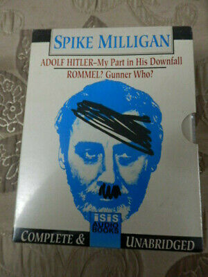 Adolf Hitler, My Part In His Downfall/Rommel Gunner Who.Spike Milligan,Sealed. • 4.99£