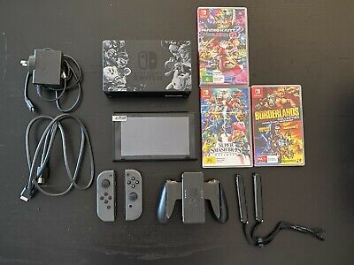 AU340 • Buy Nintendo Switch Console (Limited Edition ) + Games Bundle + Accessories