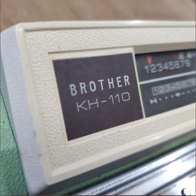 £493.99 • Buy Brother KH-110 Knitting Knitleader Machine With Case