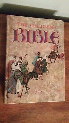 The Children's Bible Illustrated Hardcover 1965 Golden Press Vintage  • 7.06£