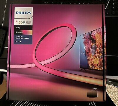 AU514.08 • Buy Philips Hue Play Gradient Lightstrip 75  560423 - In Hand - Free Shipping 🔥
