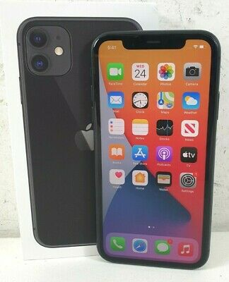 AU425 • Buy Apple IPhone 11 A2221 MHDA3X/A 64GB IOS Smartphone Black Unlocked AU Stock