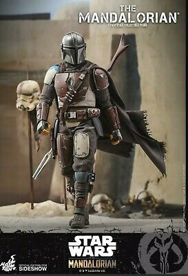 $ CDN499 • Buy Hot Toys TMS007 Star Wars The Mandalorian 1/6th Scale Collectible Figure Sealed
