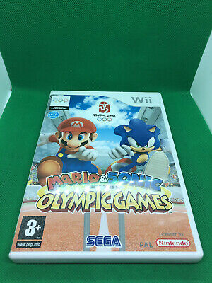 Mario And Sonic At The Olympic Games Nintendo Wii Complete • 4.95£