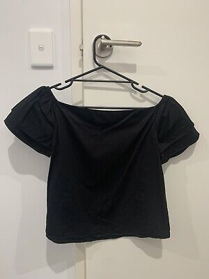 AU10 • Buy Forever New Top Black Size 8