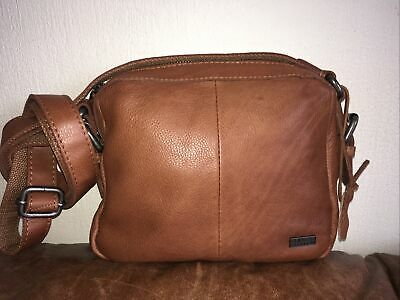 Spikes & Sparrow Tan Leather Small  Messenger Bag Bnwot • 9.50£