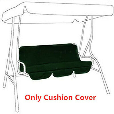 Foldable Solid Anti UV Swing Seat Cover Patio Garden Outdoor Waterproof • 14.32£