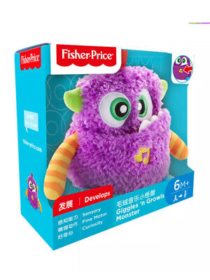 £9.99 • Buy Fisher Price Giggles N Growls Monster Baby Sensory Soft Toy