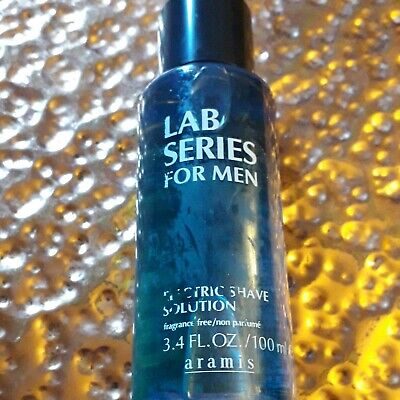 Lab Series Skincare For Men Electric Shave Solution 100ml NEW Mark On Bottle • 10£