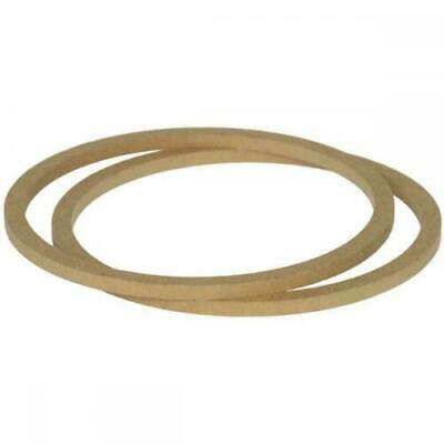£8.91 • Buy 8  200mm Pair Of MDF Speaker Spacer Mounting Rings 8mm Thick ID 182mm ED 202mm