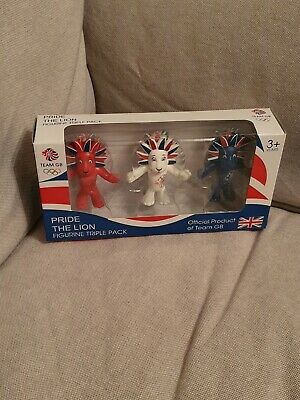 £15 • Buy Team GB 3 Lions Official Merchandise London 2012 Olympics Figures