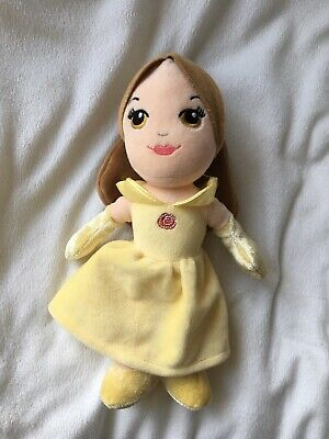 Official Disney Posh Paws Beauty And The Beast Belle In Ballgown 9 Soft Toy Doll • 3.49£