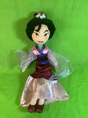 Disney Store 20  Princess Mulan Doll Plush Soft Toy • 12.95£