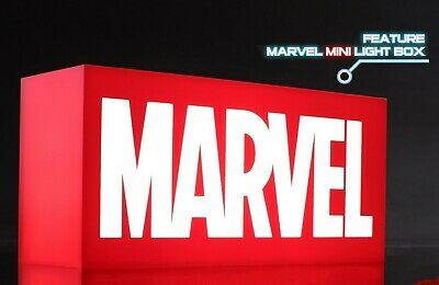 $ CDN139.26 • Buy Hot Toys Marvel Logo Mini-version Lightbox Light Box - New & Sealed