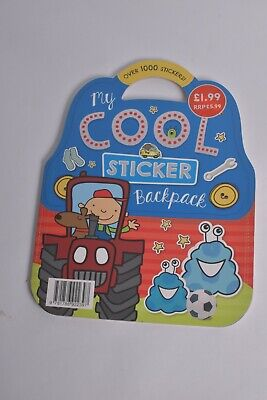 AU2.45 • Buy My Cool Sticker Backpack Football Tractor Experiment Kids Book Children School