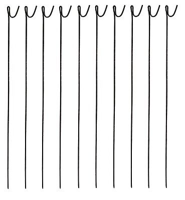 £34.95 • Buy NEW STEEL METAL BARRIER FENCING Fence Pins Post Stakes 10mm X 1250mm Pack Of 10