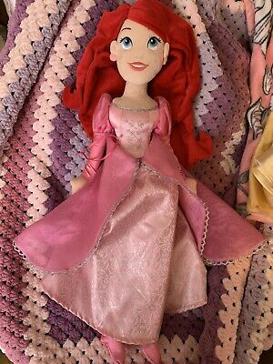 Disney Harrods Ariel Soft Plush Doll Toy New Without All Tag & Rare • 25£