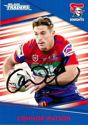 AU9.99 • Buy ✺Signed✺ 2020 NEWCATLE KNIGHTS NRL Card CONNOR WATSON