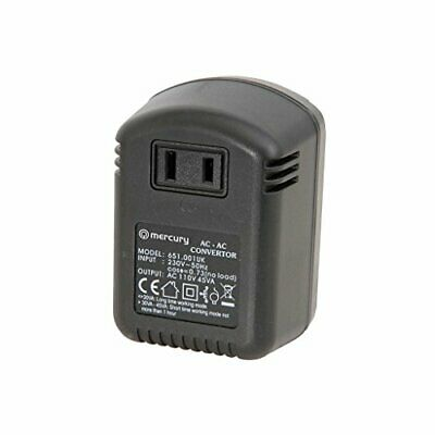 Mercury 45W Step-down Converter 230V To 110V UK To USA Voltage Transformer • 7.99£