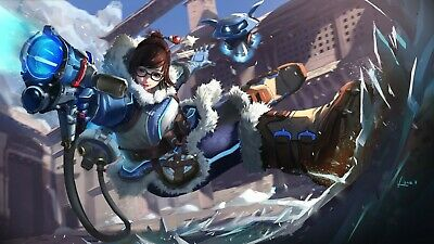 AU14.67 • Buy Overwatch Gaming  Poster Picture Print V3