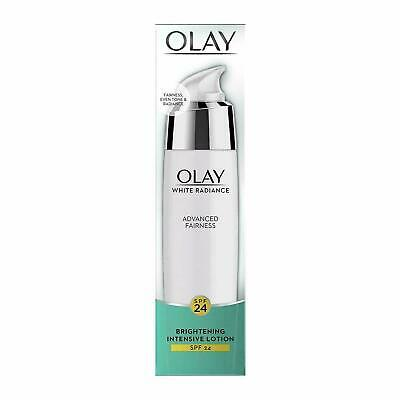 AU45.92 • Buy Olay White Radiance Advanced Whitening Brightening Intensive Skin Lotion, 75ml