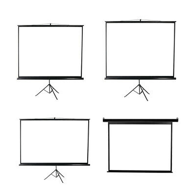 AU109.99 • Buy 100/120 Inch Projector Screen Motorised Tripod Stand Retractable 3D Cinema Home