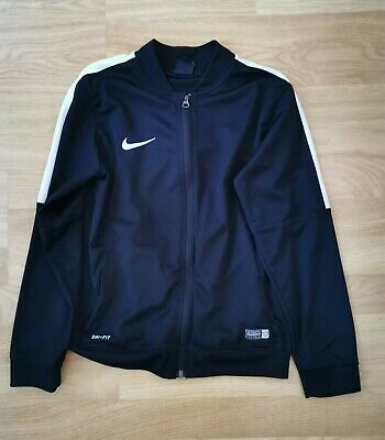 Boys Nike Dri-fit Tracksuit Top Age 10-11 • 6.50£