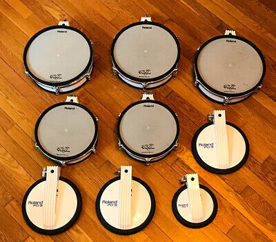 AU644.54 • Buy Roland TD 10 Drums PD 120, PD 100, PD 9, PD 7.  TESTED WORKING
