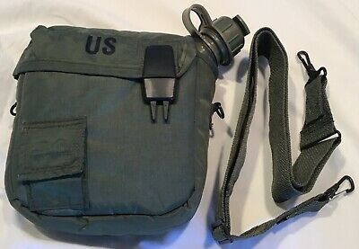 $ CDN13.76 • Buy USGI 2 Qt Collapsible Water Canteen Bladder OD W/Cover Sling NEW
