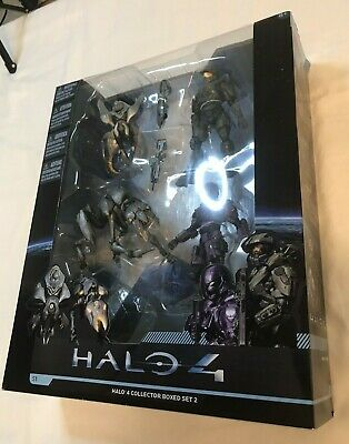 $45 • Buy HALO 4 Collector Big Boxed Set #2 By Macfarlane Toys Figures