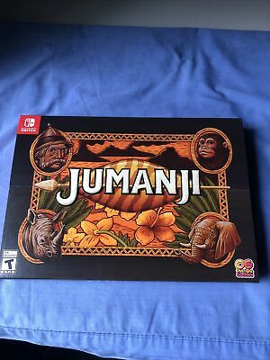 AU52 • Buy Jumanji Collectors Edition Nintendo Switch. Limited Run Games Lrg 2000ww Rare