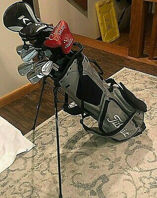 AU1291.66 • Buy Golf Club Set Complete MRH/Mizuno/Scotty/Cobra/Titleist Read Description!!!!