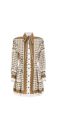 AU329.95 • Buy Zimmermann Dot Scarf Mini Dress Size 0 Current Season