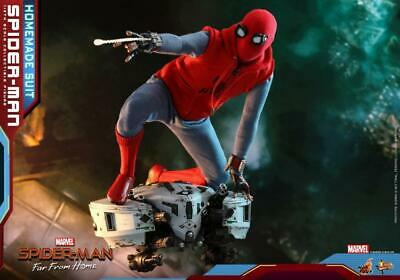 $ CDN285.53 • Buy Hot Toys 1/6 MMS552 - Spider-Man: Far From Home Spider-Man (Homemade Suit) READY