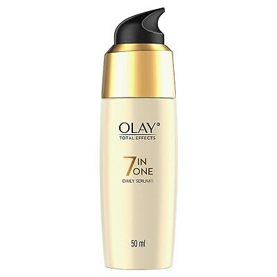 AU32.24 • Buy Olay Serum Total Effects 7 In 1, Anti-Ageing Smoothing Serum, 50 Ml