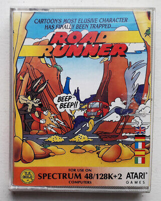 ROAD RUNNER By US Gold For Sinclair ZX Spectrum. Original Double Jewel Release. • 3.99£