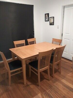 AU100 • Buy Dining Table Extendable And 6 Chairs