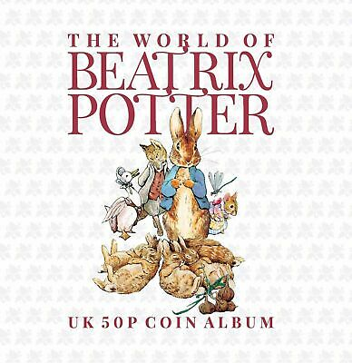 2020 Beatrix Potter Peter Rabbit 50p Fifty Pence 15 Coin Album Gift SU • 8£