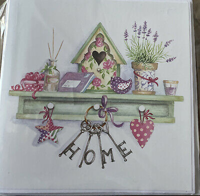 Pack 3 Home Made Blank Cards  • 1.75£