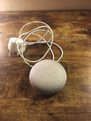 AU1.79 • Buy Google Home Mini Smart Assistant - Chalk