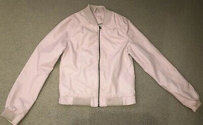Zara Baby Pink Leather Jacket. 13-14years • 5£