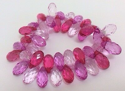 Toddler Little Girls Pink Birthday Party Stretch Bracelet Gift Jewellery Elastic • 1.75£