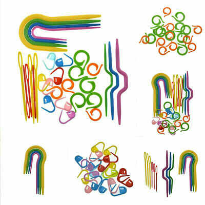 £3.35 • Buy Crocheting 53Pcs Markers Plastic Sewing Set For Knitting Stitch Cable Needles