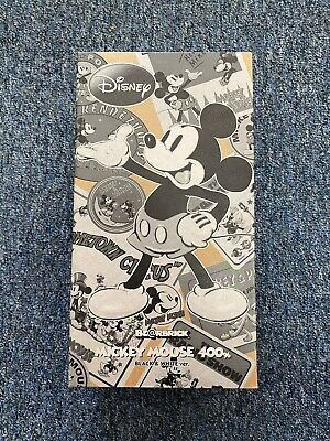 $390 • Buy 2010 Bearbrick Mickey Mouse 400% Black & White Ver. B&W Be@rbick
