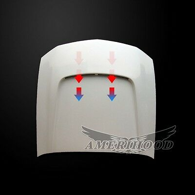 $511 • Buy 2005-2009 FORD MUSTANG SBY STYLE FUNCTIONAL HEAT EXTRACTION HOOD By AmeriHood