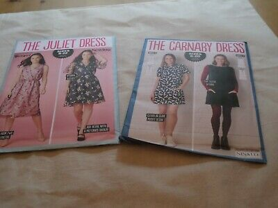 2 X  Assorted Ladies Dressmaking Patterns  - Brand New • 8£