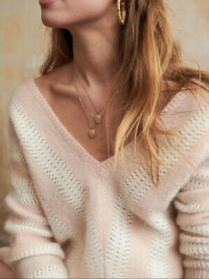 $ CDN122.56 • Buy SEZANE MOHAIR WOOL ARIEL JUMPER/ SWEATER, Brand New With Tag, Pink!! Size S