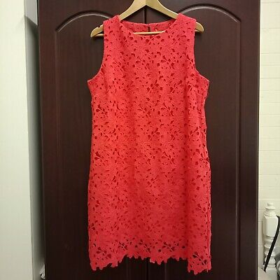 AU35 • Buy Tangerine Lace Dress TARGET COLLECTION Size 18